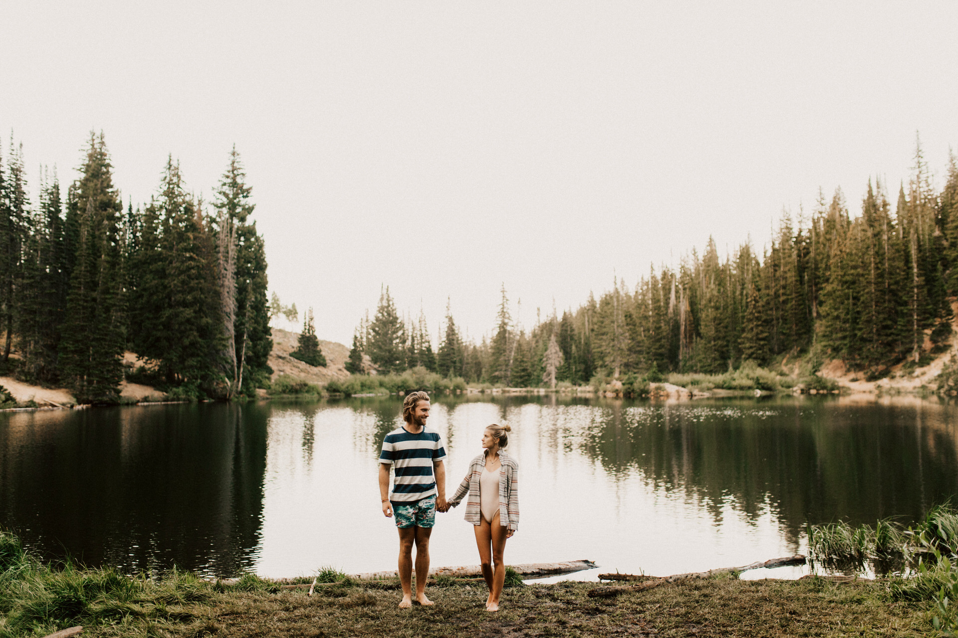 IMG 2134 - Waterfall anniversary in the woods of Yellowstone National Park